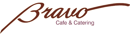 bravo cafe and catering logo
